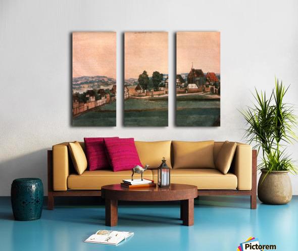 Erlauterung Johanniskirchhof Split Canvas print