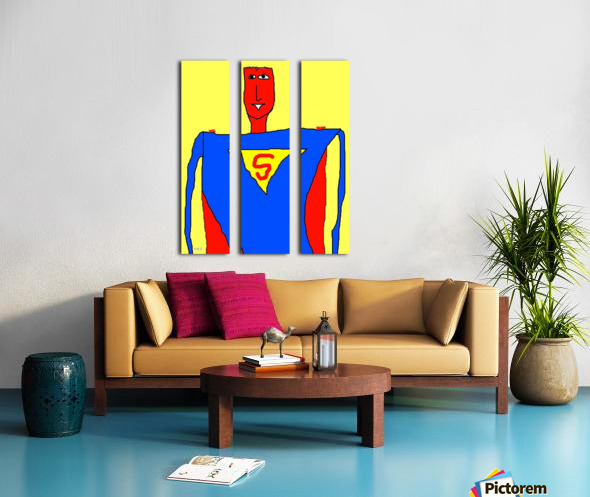 Super Split Canvas print