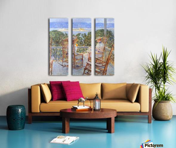 Ten Pound Island by Hassam Split Canvas print