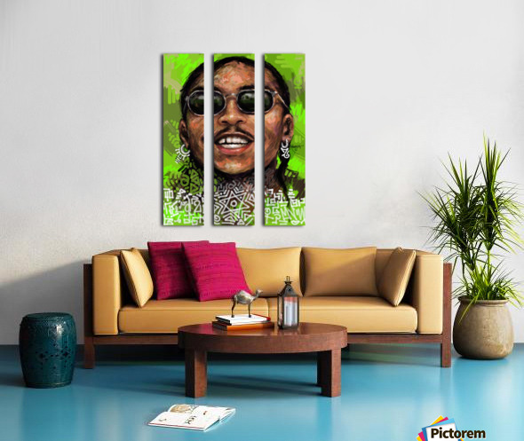 wizzz Split Canvas print