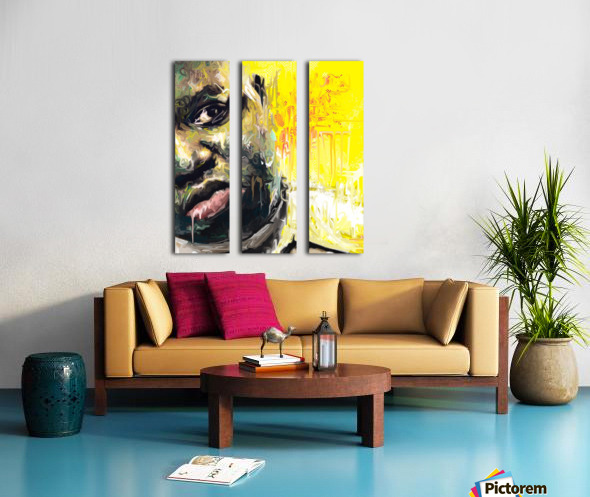 BIG Split Canvas print