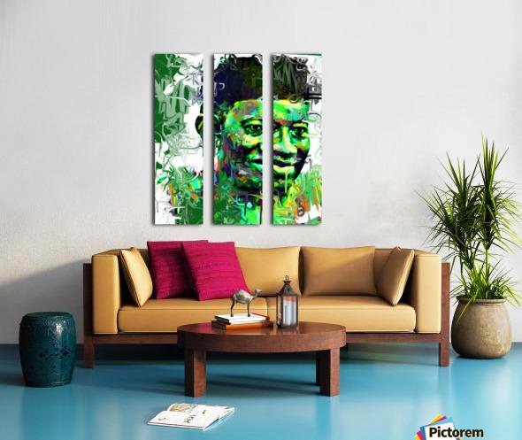 goodluck Split Canvas print