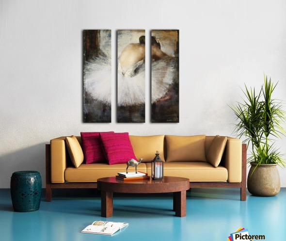 The Break Split Canvas print