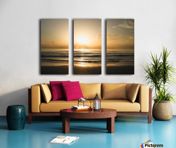 Golden Soul Split Canvas print