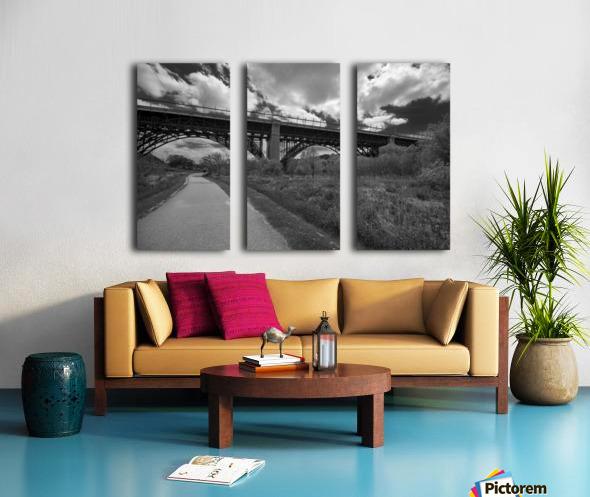 The bridge Split Canvas print