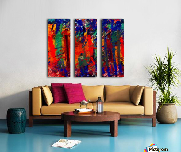NKL abstract-101 Split Canvas print