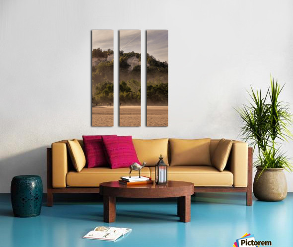 Hot day at the Bluffs Split Canvas print