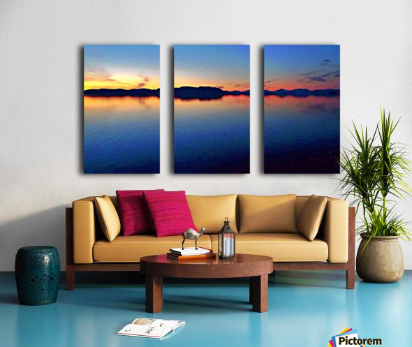 Inner Passage Split Canvas print