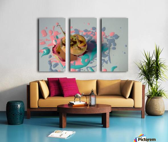 Painted Roses.04 Split Canvas print