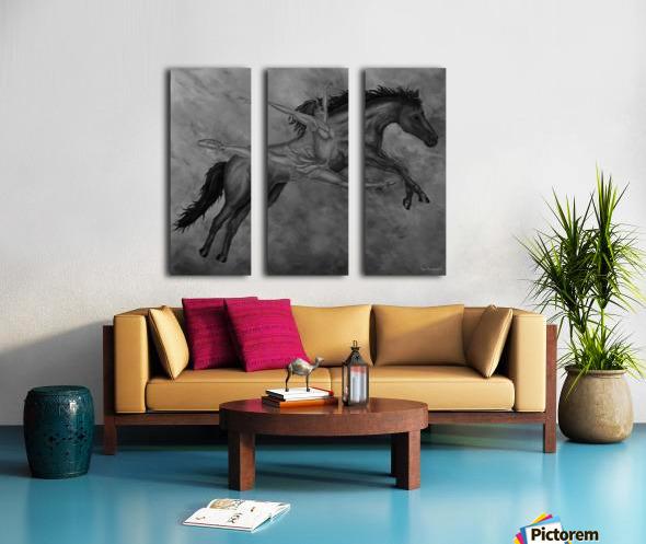 Moment Of Elation Split Canvas print