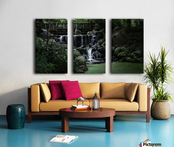Prospect park waterfall no frame Split Canvas print
