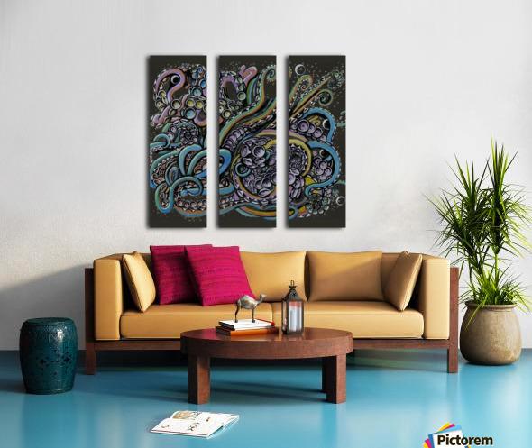 Nova Split Canvas print