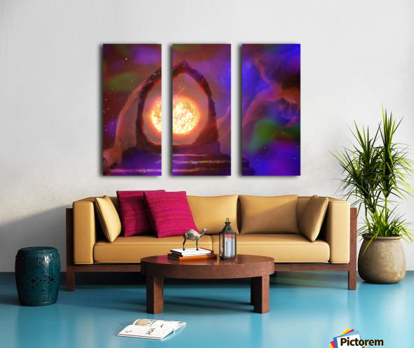 The Oracle  Split Canvas print