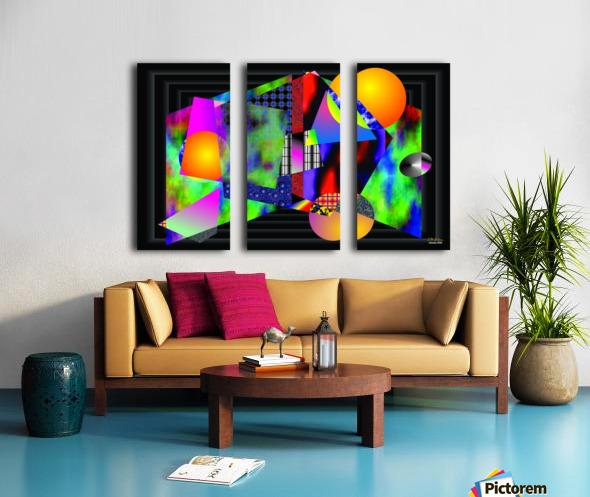 1-Intersections Split Canvas print