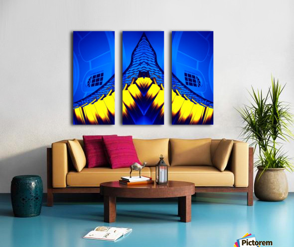 JAWS Split Canvas print