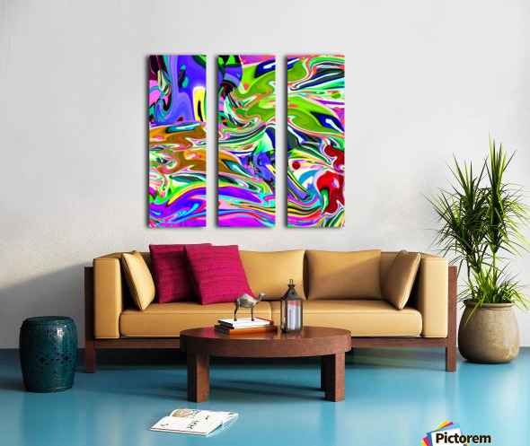 stream 1911011342 Split Canvas print
