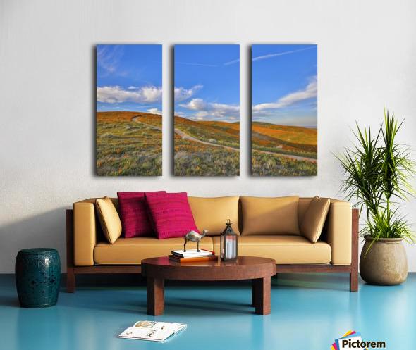chilhood dream Split Canvas print