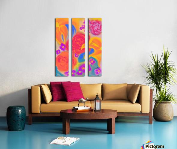 floral Split Canvas print