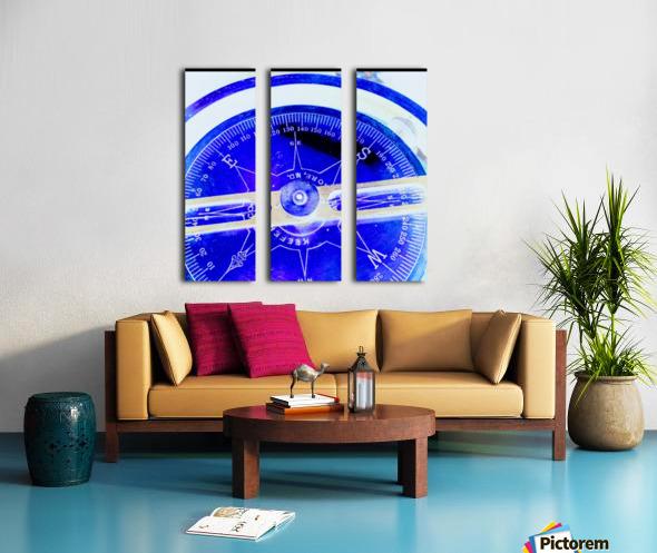 compass Split Canvas print