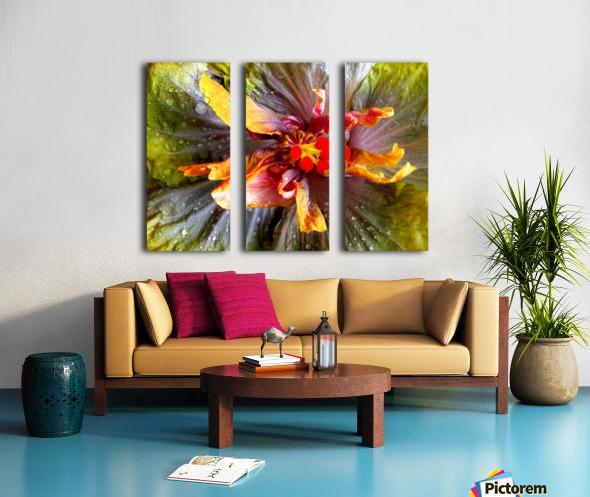 The Multicolored You Split Canvas print