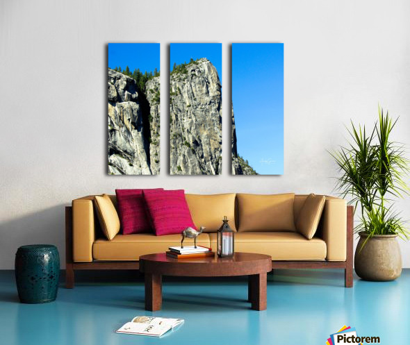 El Capitan Split Canvas print