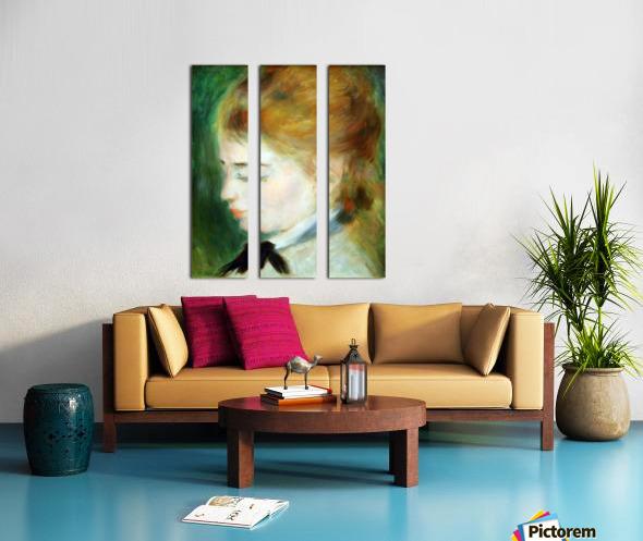 Actress Henriette Henriot Split Canvas print