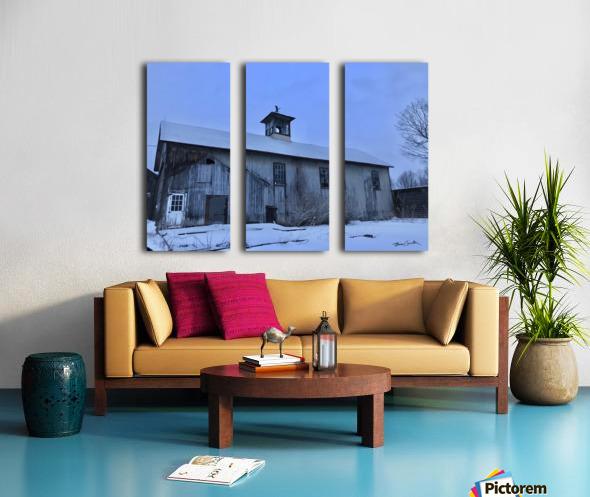 Avon Barn Split Canvas print