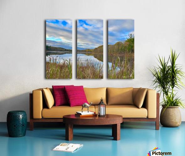 Granville Pond Split Canvas print