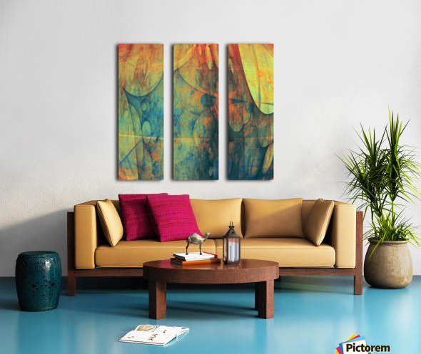 Abstract Composition 139 Split Canvas print