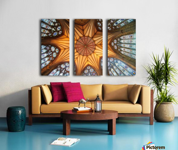 Religious Ceiling Split Canvas print
