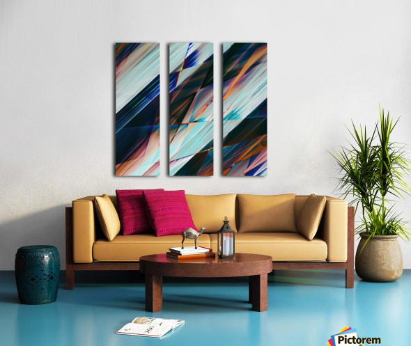 Abstract Composition 426 Split Canvas print