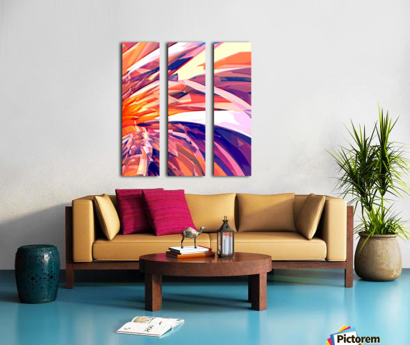 Abstract Composition 695 Split Canvas print
