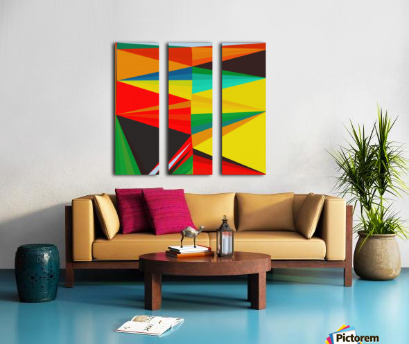 Abstract Composition 652 Split Canvas print