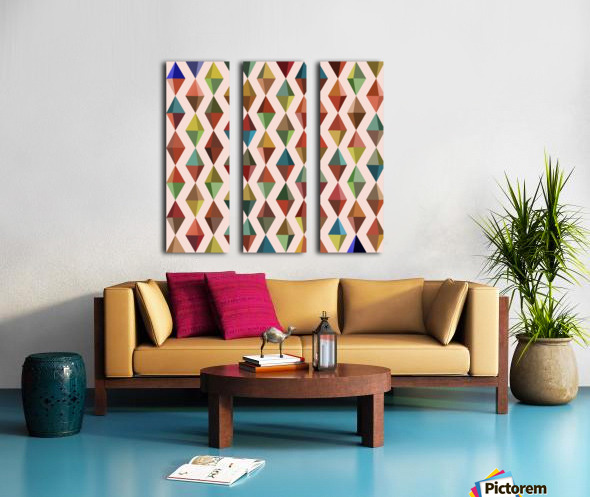 Abstract Composition 530 Split Canvas print