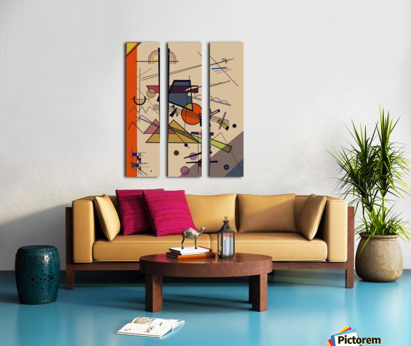 Abstract Composition 522 Split Canvas print