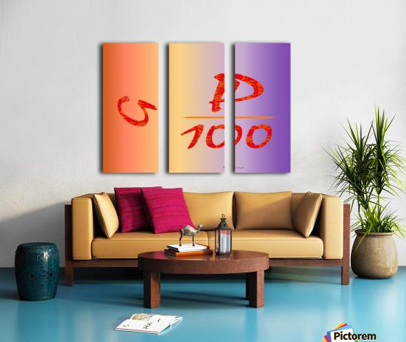 Humour 1 Split Canvas print