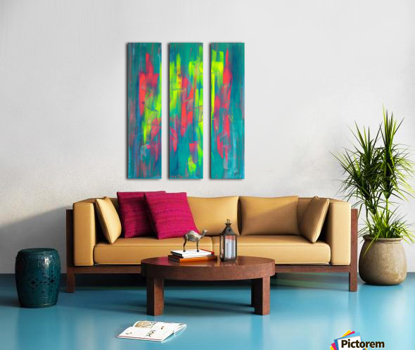PRÉCIPITATION Split Canvas print