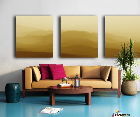 Mountainous Landscape 6 Split Canvas print