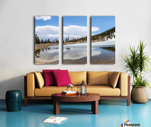 Colorado Glacier Split Canvas print