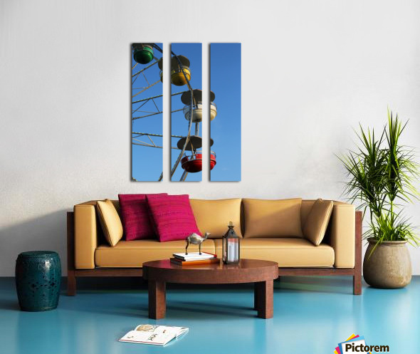 Ferris Wheel Split Canvas print
