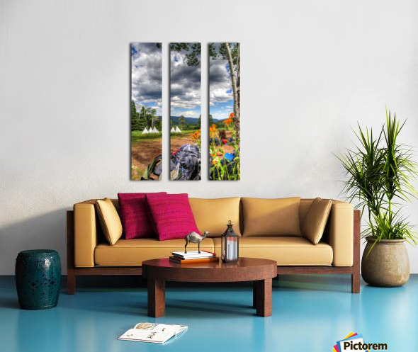 Rest with a View Split Canvas print