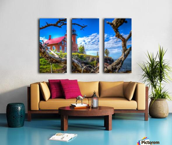 Lake Superior Lighthouse Split Canvas print