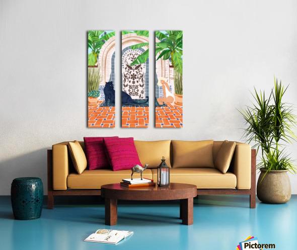 Frienaissance Split Canvas print