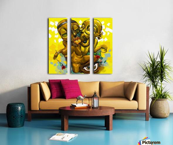 PARABLE LOVE Split Canvas print