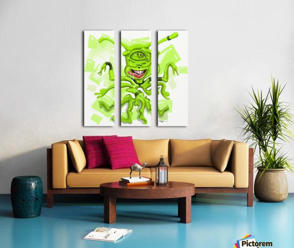 SACRED Split Canvas print