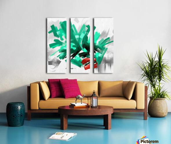 ZXVBC Split Canvas print