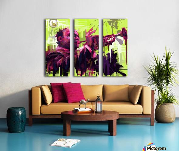 Untitled 2 Split Canvas print
