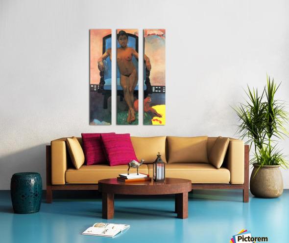 Anna the Java Woman by Gauguin Split Canvas print