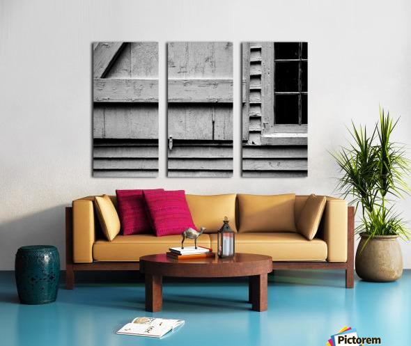 Shutter and Panes Split Canvas print