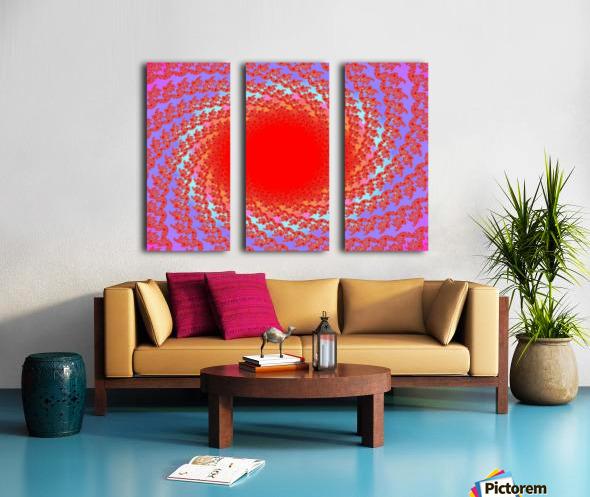 A Sun Burst In Spring 1 Split Canvas print